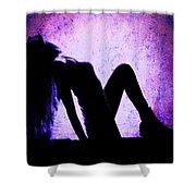Renew And  Repeat V4 Shower Curtain