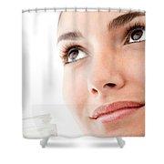 Reno Anti Aging Cream Shower Curtain