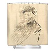 Renoir (first Plate) Shower Curtain