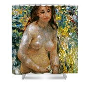 Renoir: Torso, C1876 Shower Curtain