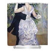 Renoir: Town Dance, 1883 Shower Curtain