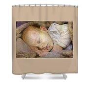 Renoircalia Catus 1 No.2 - Adorable Baby L A Shower Curtain