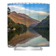 Renuka Temple Shower Curtain
