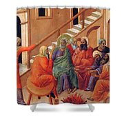 Renunciation Of Peter 1311 Shower Curtain