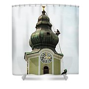 Repelling  Shower Curtain