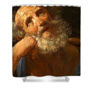 Repentant Peter 1637 Shower Curtain
