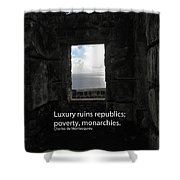 Republics And Monarchies Shower Curtain