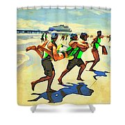 Rescue Shower Curtain