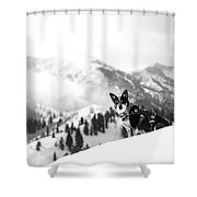 Rescue Dog Shower Curtain