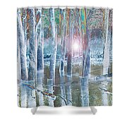 Rescued By The Lord Shower Curtain