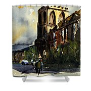 Residences, Catholic University Shower Curtain