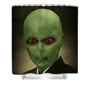 Resident Professor Of Interplanetary Research Area 51 Shower Curtain