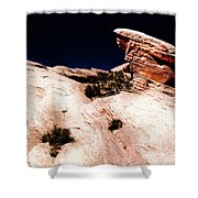 Resistant Boulder Valley Of Fire Shower Curtain