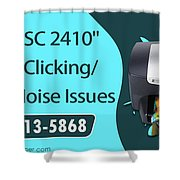 Resolve Hp Psc 2410 Scanner Clicking Grinding Noise Issues Shower Curtain