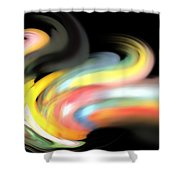 Resonant Frequency Shower Curtain