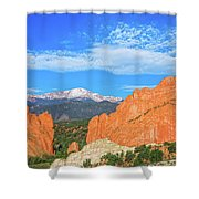 Resplendent In Every Respect Shower Curtain