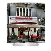 Restaurant And Cafe Shower Curtain