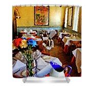 Restaurant In Red Bank 2 Shower Curtain