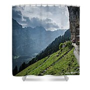Restaurant In The Sky Shower Curtain