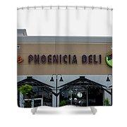 Restaurant Shower Curtain
