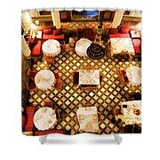 Restaurant Palais Des Merinides Fes Morocco Paint  Shower Curtain