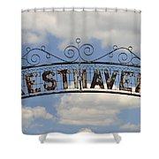 Resthaven Shower Curtain