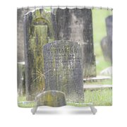 Resting Place In The Rain Shower Curtain