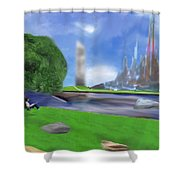 Resting Place / Legacy Shower Curtain
