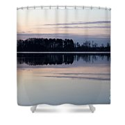 Restless Mourning Shower Curtain