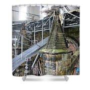 Restoration Rosslyn Chapel Shower Curtain