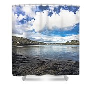 Restronguet Passage Hdr Shower Curtain