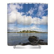 Restronguet Point Cornwall Shower Curtain