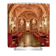 Resurrection Chapel Shower Curtain
