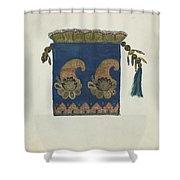 Reticule Shower Curtain