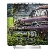 Retire In Style Shower Curtain
