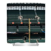 Retired Numbers Of The Orioles Greatest Ever Shower Curtain