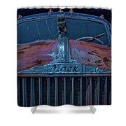 Retired Rusty Mack Iv Shower Curtain
