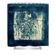 Retro Inkt Work Shower Curtain