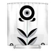 Retro Nordic Shower Curtain