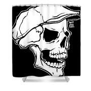 Retro Skull Shower Curtain