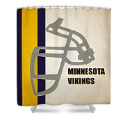 Retro Vikings Art Shower Curtain