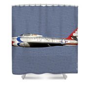 Return Of The F 84 Shower Curtain