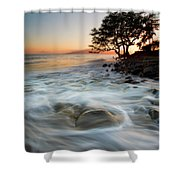 Return To The Sea Shower Curtain by Mike  Dawson