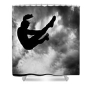 Returning To Earth Shower Curtain by Bob Orsillo