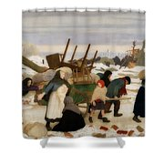 Returning To The Reconquered Land Shower Curtain
