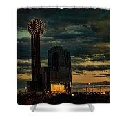 Reunion Tower, Dallas Texas Shower Curtain
