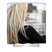 Revasse Shower Curtain