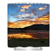 Reveille Shower Curtain