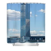 Revel Casino In Atlantic City, New Jersey Shower Curtain