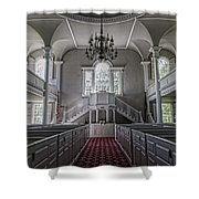 Reverence - Bennington First Church Shower Curtain